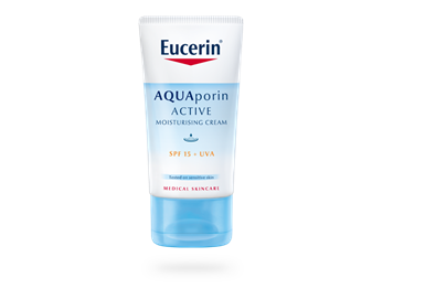 Eucerin AQUAporin ACTIVE Crema FPS 15+ UVA Para piel normal