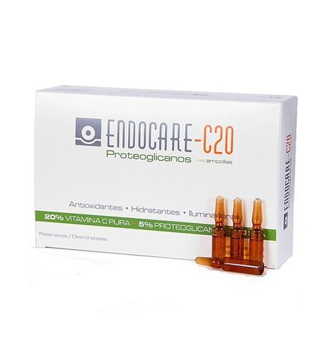 Endocare 1 Second C20 30 Ampollas 2ml